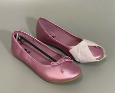 Zoe /& Zac Lilac Pinkish Purple Slip On Sandals Flats Big Kid Girls
