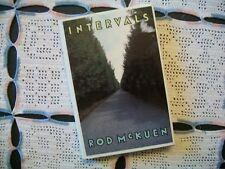 Intervals (Rod McKuen, 1986 1st Edition HCDJ)