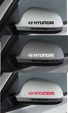 Per HYUNDAI - 2 x ala specchio in Vinile Adesivo Decalcomania Per Auto I20 I30 - 100mm lunga
