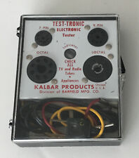 New listing Kalbar Products Test-tronic Electronic Tube Tester