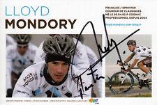 Lloyd Mondory (fra) team ag2r original firmado/signed!!!