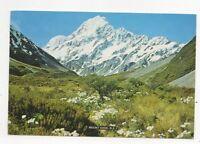 Mount Cook & The Hooker Valley New Zealand 1994 Postcard 449a