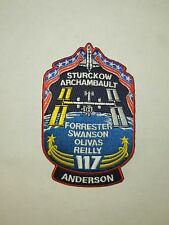 NASA Space Shuttle Atlantis Mission STS-117 ISS Assembly Flight 13A Large Patch
