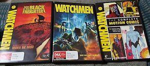 WATCHMEN.. DVD 3x Combo Pack Set.. Like New..