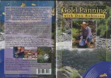 Gold Panning with Dan Robinson Equipment Principles Techniques Dvd New