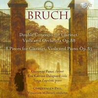 VIOLA AND ORCHESTRA/+ BRUCH:CONCERTO FOR CLARINET - PUNZI/DALSGAARD/CD NEU
