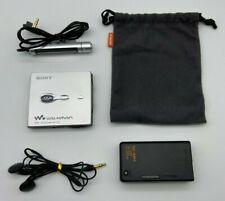 Sony MD Walkman MZ-E700 Minidisc Player MDLP Silver SA1