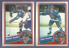 1984-85 OPC O-PEE-CHEE Quebec Nordiques Team Set