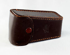 Brown Leather Case for Nikon F Collapsible Flash Gun BC-4 and BC-5