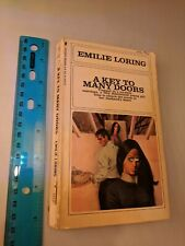 Emilie Loring #45 A Key To Many Doors 1960's Softcover Bantam Books
