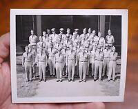 Vtg Original 1955 Charm School Ohio State University Military Army ROTC PHOTO