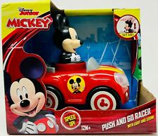 Disney Junior Mickey Push and Go Racer Car. Lights and sounds 12 months plus New