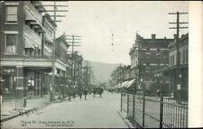 Salamanca NY Main St. c1910 Postcard