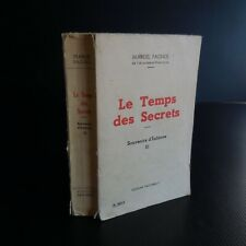 Marcel Pagnol Le Temps des secrets 1960 PASTORELLY Monte-Carlo Monaco N5336