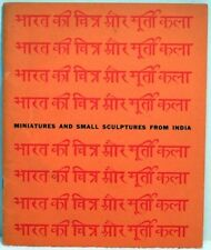 MINIATURES & SMALL SCULPTURES FROM INDIA Exhibition Indian Paintings Art History