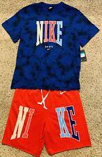 Men's Nike Sportswear Americana Swoosh RWB Shorts & Shirt CK0148-455 Sz XL