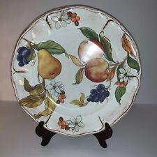 SUR LA TABLE Set of 2 Dinner Plates FRUTTA fruit design