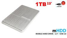 "Neuf 1To 2,5"" Freecom mHDD 1 to Disque dur Externe Portatif USB3.0 & 2.0"