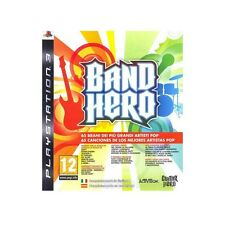 > BAND HERO - PLAYSTATION 3 PS3 - ITALIANO e SPAGNOLO - NUOVO SIGILLATO - GUITAR