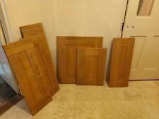 Solid Oak Kitchen Doors Cupboard doors X 6