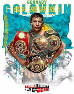 Gennady GGG Golovkin 4LUVofBOXING Poster New Boxing gym wall art