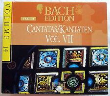 5 CD-Set-Bach Edition 14-Cantatas/Kantaten vol. VII
