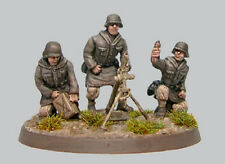 CP Models WS11 20mm Diecast WWII German Waffen SS Eastern Front Mortar Team