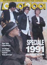 CIAO 2001 1 1992 REM Roger Taylor Black Rose Fuzztones Skin Yard Franco Battiato