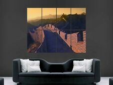 GREAT WALL OF CHINA  POSTER PRINT GIANT