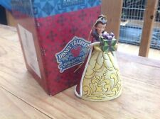 """rare disney tradition 'belle hanging dec' from beauty& beast 5"""" boxed"""