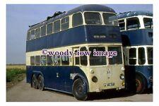 gw0761 - Unknown Trolleybus , reg no FET 617 - photograph