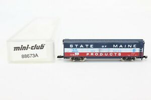 Z Scale Marklin 88673A New Haven N.H. 45037 State of Maine 50' Box Car LNIB