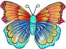 Beautiful Butterfly Metal Wall Art Colourful Garden Wall Art Tropical Decor