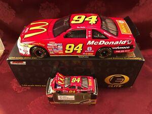 BILL ELLIOTT 1997 #94 McDonalds Ford Thunderbird 1/24 ELITE & 1/64 Diecast  SET