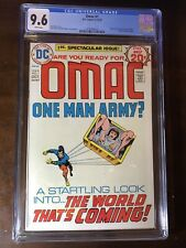 OMAC #1 (1974) -1st Appearance OMAC!!! Jack Kirby!! - CGC 9.6!!! - White Pages!!