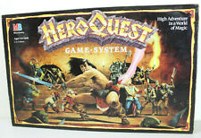 Hero Quest MB Board Game System, Vintage Milton Bradley 1989 1990, 100% Complete