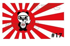 JDM RISING SUN STICKERS - JDM PANDA BEAR #17