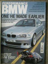 Performance BMW October 2003 330Ci Schnitzer E36 325i 390 E21 323 2.7 525i E34