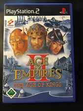 PS2 - Age Of Empires II: The Age Of Kings (Sony PlayStation 2, 2002, DVD-Box)