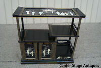 60761 Oriental Whatnot Bookcase Woman Figural  Curio Cabinet