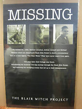 vintage The Blair witch project movie poster 1999 3170