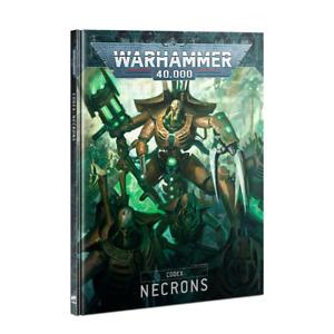 Codex Necrons 9th Edition 2020 Warhammer 40K NEW Book