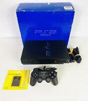 PlayStation 2 PS2 Fat Console Bundle, Original Box, OEM Controller, 128mb Memory