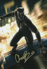 Chadwick Boseman marvels Black Panther poster Signed Autograph PRINT 6x4 gift