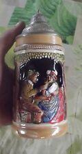 Ancien Pichet Broc 25cl Souvenir de Vacance N°300 Original King 4. 1970 Taverne