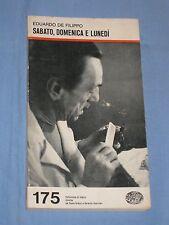 SABATO, DOMENICA E LUNEDI' - Eduardo De Filippo - Einaudi (A3)