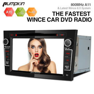 PUMPKIN Car Sat Nav Stereo GPS DVD Player 16G-SD FOR OPEL Vauxhall Astra H Crosa