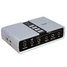 Startech adaptador sonido USB externo