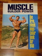 MUSCLE BUILDER bodybuilding magazine ARNOLD SCHWARZENEGGER 1-70