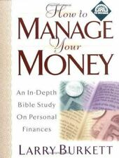 How to Manage Your Money: An In-Depth Bible Study on Personal Finances with CDRO